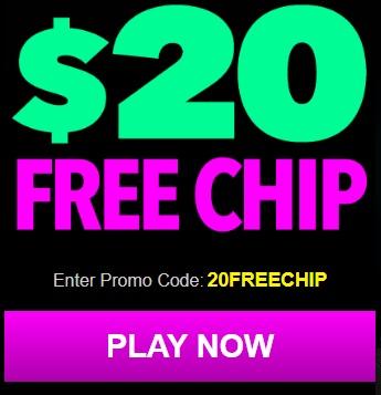 Uptown Aces No Deposit Bonus Codes $20 Free Chip